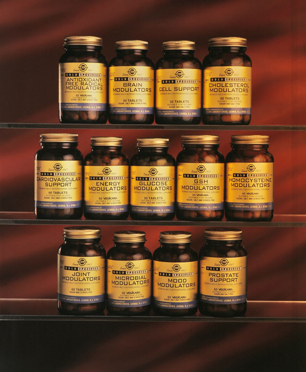 Solgar vitamins photographed by Viewpoint